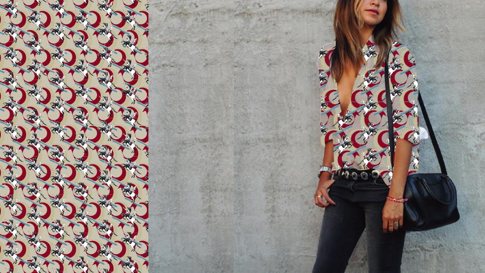 bespoke pattern motif design